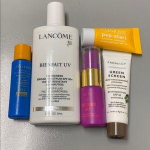 Skincare spf bundle